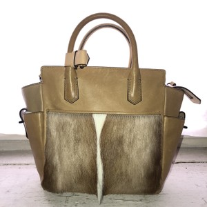 Reed Krakoff Leather Casual Tote in Tan