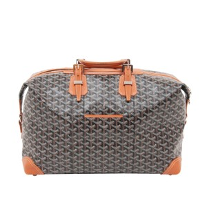 Goyard Black/Brown Travel Bag