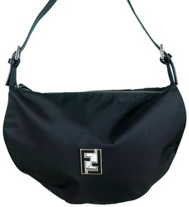Fendi Nylon Ff Neoprene Shoulder Bag