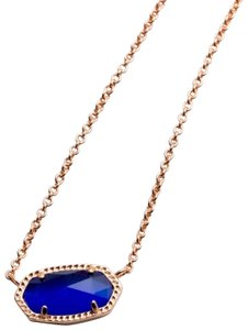 Kendra Scott Kendra Scott * Elisa Necklace In Colbalt Cat's Eye