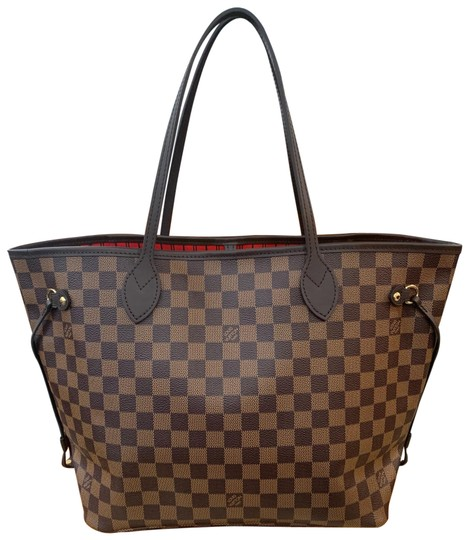 Preload https://item2.tradesy.com/images/louis-vuitton-neverfull-2019-new-mm-dustbag-tag-brown-damier-ebene-canvas-leather-tote-26016151-0-1.jpg?width=440&height=440