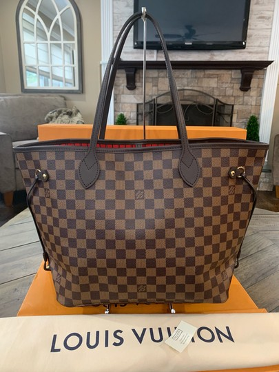 Louis Vuitton Shoulder Hobos Lv Damier Handbags Tote in Brown Image 1