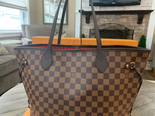 Louis Vuitton Shoulder Hobos Lv Damier Handbags Tote in Brown Image 5