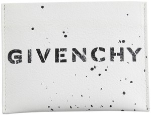 Givenchy Givenchy Logo-print Leather Card Holder