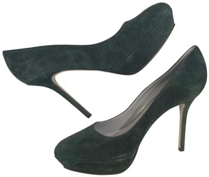 Sergio Rossi Dark Green Pumps