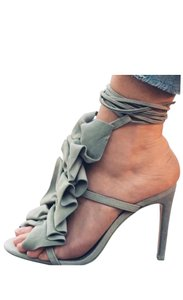 Zara Mint Green Sandals