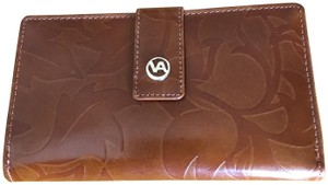 Valentina Valentina -- Made in Italy -- Tooled Leather Wallet