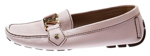 Louis Vuitton Leather Pink Flats