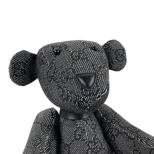 Gucci Monogram Teddy Bear Image 2