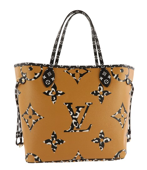 Louis Vuitton Mm Neverfull Jungle Tote in Multi Image 1