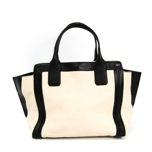 Chloé Satchel in Beige / Black