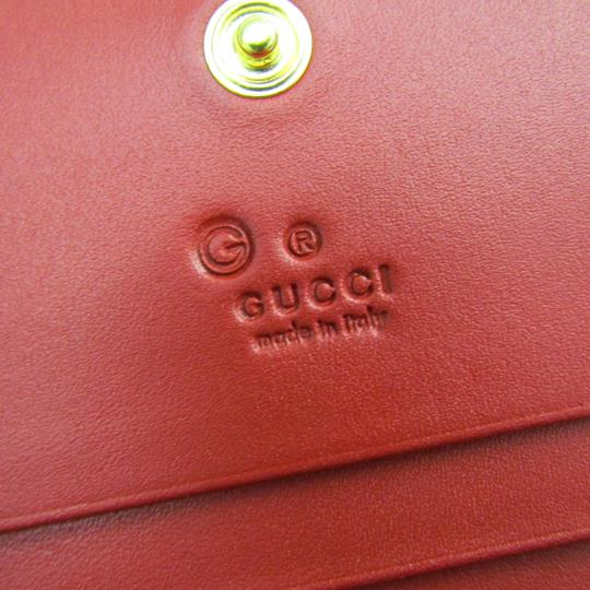 Gucci Gucci GG Blooms GUCCY Logo 524965 Leather GG Supreme Card Case Blue,Navy,White Image 7