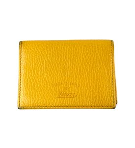Gucci Leather Card Holder Wallet