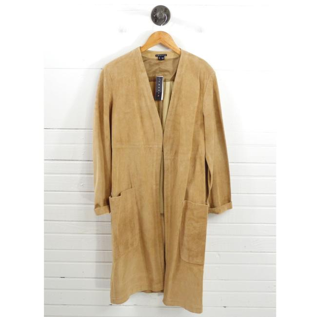 Item - Tan 'ankan S' Classic Suede #131-249 Jacket Size 8 (M)