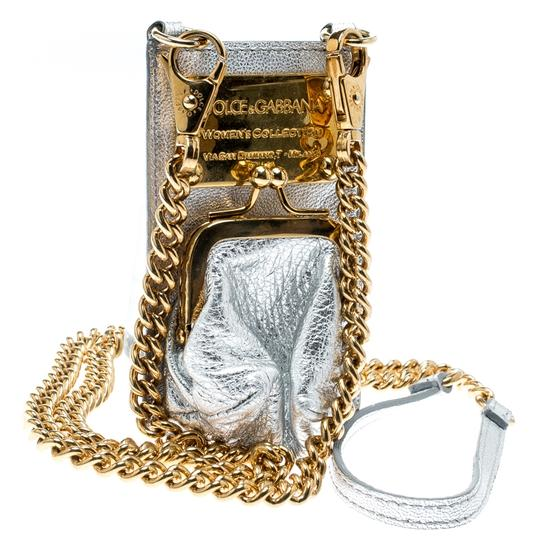 Dolce&Gabbana Silver Leather and PVC iPhone Case and Coin Purse Image 2