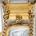 Dolce&Gabbana Silver Leather and PVC iPhone Case and Coin Purse Image 4