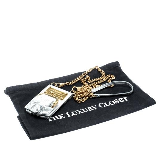 Dolce&Gabbana Silver Leather and PVC iPhone Case and Coin Purse Image 5