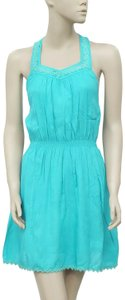 Coast short dress Turquoise on Tradesy
