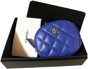Chanel Brand New NIB 2019 Chanel Lambskin CC Round Coin Purse / Wallet Pouch
