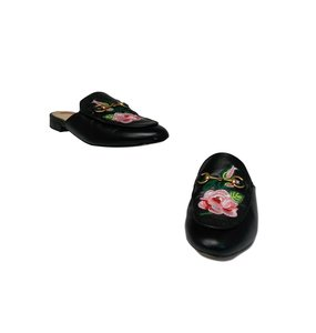 Gucci Luxury Fascinante Nice Leather Black Mules