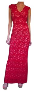 Maxi Dress by Nightcap Red Lace Wedding