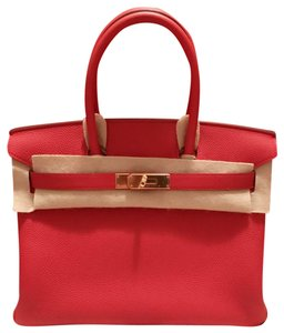 Hermès Birkin Classic Tote in Red