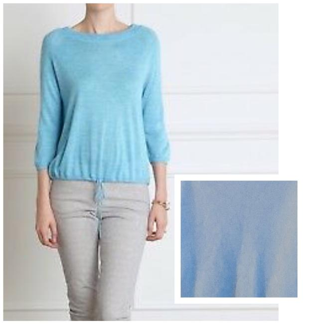 Item - Cashmere Heather Bluebell Sweater