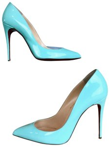 Christian Louboutin Mint Pigallie Follies Opaline Green Pumps