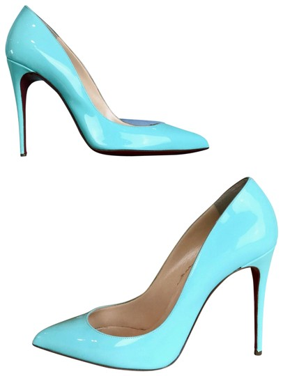Christian Louboutin Mint Pigallie Follies Opaline Green Pumps Image 0