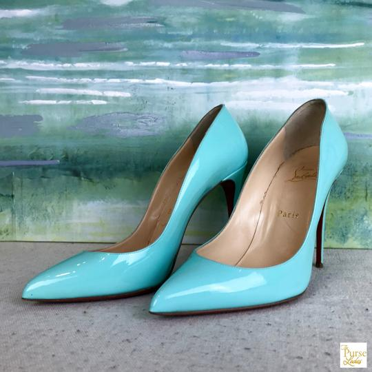 Christian Louboutin Mint Pigallie Follies Opaline Green Pumps Image 1