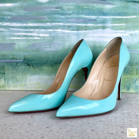 Christian Louboutin Mint Pigallie Follies Opaline Green Pumps Image 2