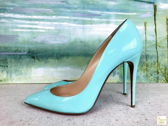 Christian Louboutin Mint Pigallie Follies Opaline Green Pumps Image 4