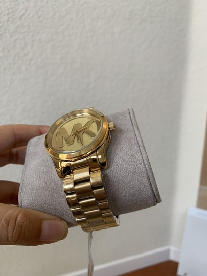 Michael Kors NWT Michael Kors Gold-Tone Runway Midsized Watch MK5786 Image 6
