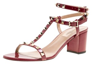 Valentino Patent Leather Red Sandals