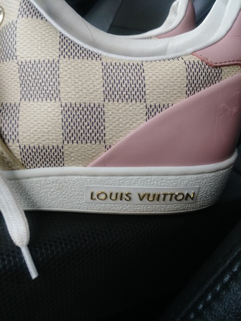 Item - Beige and Pink and Gold Damien Azur Sneakers Size EU 38.5 (Approx. US 8.5) Narrow (Aa, N)