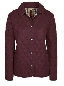 Burberry burgundy Jacket