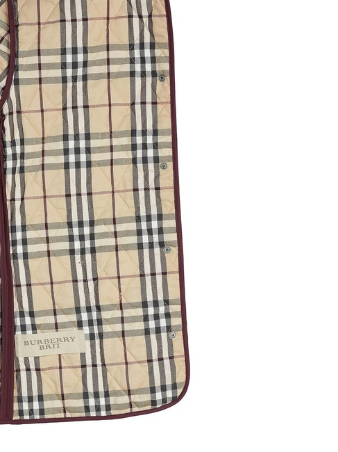 Burberry burgundy Jacket Image 2