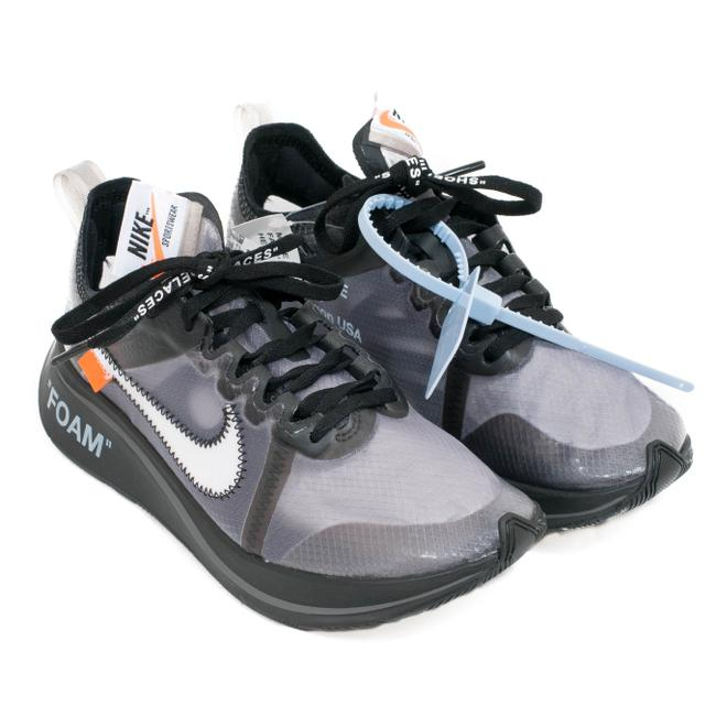 Item - Translucent Off-white Zoom Fly Sneakers Size US 4.5 Regular (M, B)