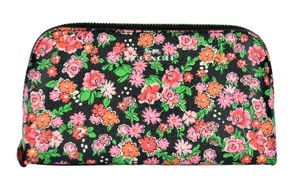 Coach Flower Floral Cluster Domed Cosmetic Case Bag