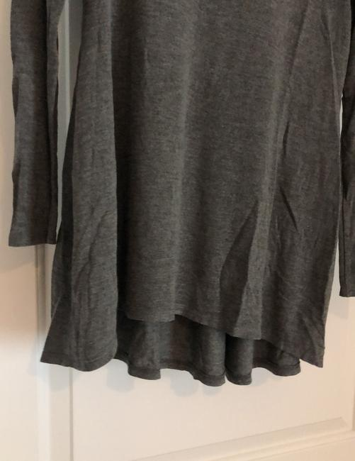 A Pea In The Pod Long Sleeve Gray Sweater A Pea In The Pod Long Sleeve Gray Sweater Image 3