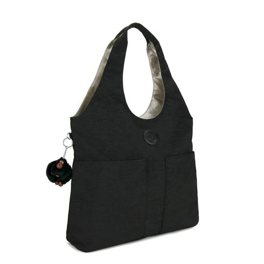 Kipling Large Tote Wide Handle Hobo Bag Image 1