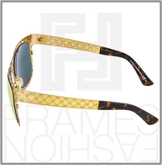 Gucci GG4266S Copper Gold Rose Mirrored Metal DDB0J 4266 Ultra Light Image 1