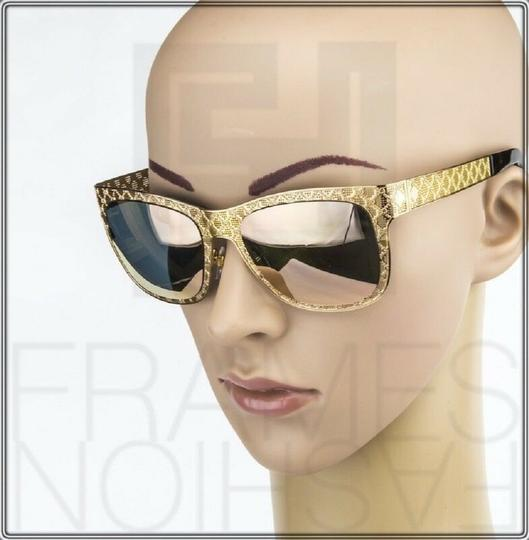 Gucci GG4266S Copper Gold Rose Mirrored Metal DDB0J 4266 Ultra Light Image 4