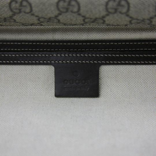 Gucci Beige/Ebony Gg Coated Canvas 201732 8588 Beige/Ebony Messenger Bag Image 9