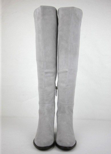 Stuart Weitzman Suede Allserve Over-the-knee Gray Boots Image 2