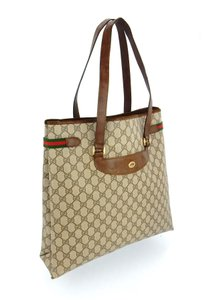Gucci Shopper Monogram Italy Vintage Gg Shoulder Bag