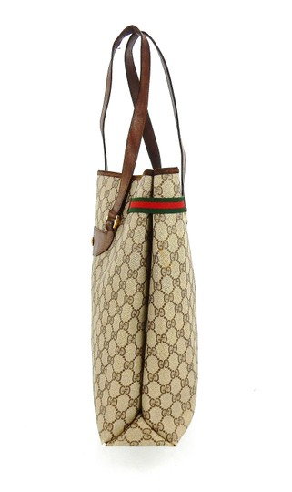 Gucci Shopper Monogram Italy Vintage Gg Shoulder Bag Image 2