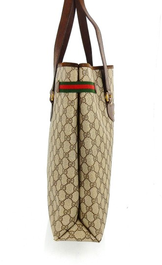 Gucci Shopper Monogram Italy Vintage Gg Shoulder Bag Image 4
