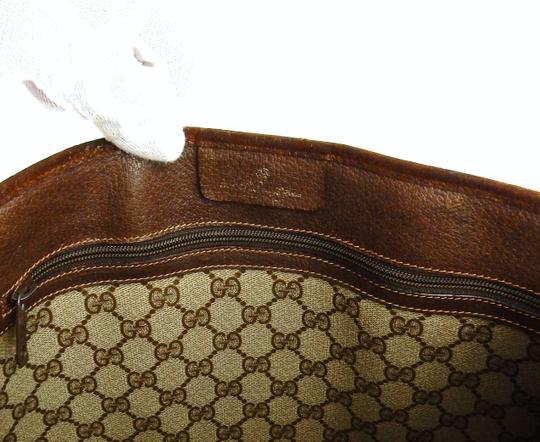 Gucci Shopper Monogram Italy Vintage Gg Shoulder Bag Image 9