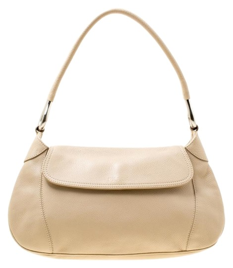 Preload https://img-static.tradesy.com/item/26020831/prada-italy-beige-leather-shoulder-bag-0-2-540-540.jpg